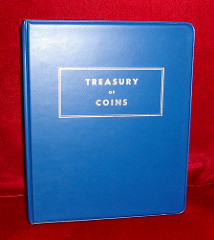 THE LIBRARY OF COINS AND TREASURY OF COINS ALBUMS