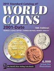NEW BOOK: STANDARD CATALOG OF WORLD COINS 2001-DATE, 5TH EDITION