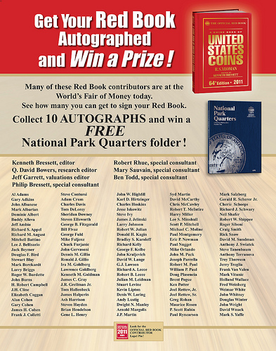 WHITMAN PROMOTION HIGHLIGHTS RED BOOK CONTRIBUTORS