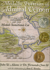 BOOK REVIEW: MEDALLIC PORTRAITS OF ADMIRAL VERNON