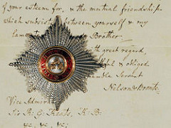 NELSON'S BREAST STAR OF THE ORDER OF THE BATH MEDAL