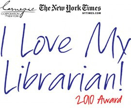 2010 NEW YORK TIMES LIBRARIAN AWARD NOMINATIONS OPEN