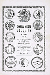 THE COIN & MEDAL BULLETIN