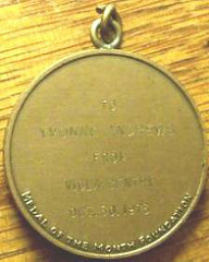 QUERY: MEDAL OF THE MONTH FOUNDATION