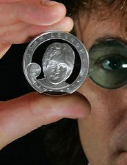 ROYAL MINT STRIKES JOHN LENNON COIN