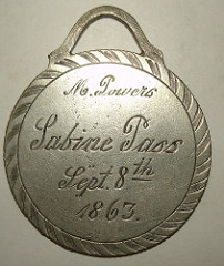 MORE ON SABINE PASS MEDAL COPIES