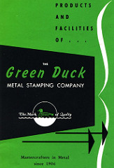 GREEN [SPACE] DUCK WAS ORIGINALLY GREENDUCK CORPORATION