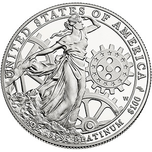 THE 2013 AMERICAN EAGLE ONE OUNCE PLATINUM PROOF