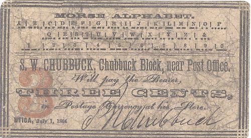 MORE ON S. W. CHUBBUCK