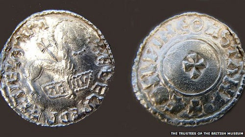 LARGE HOARD OF ANGLO SAXON COINS DISCOVERED