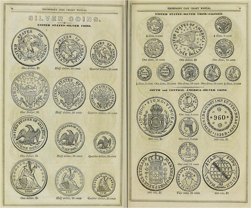 19TH CENTURY COIN CHART MANUALS