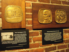 JEWISH-AMERICAN HALL OF FAME PLAQUES