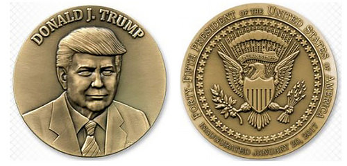 OHIO REPUBLICAN PARTY OFFERS TRUMP MEDAL