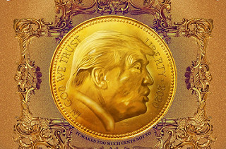 PETITION SEEKS TRUMP U.S. GOLD COIN