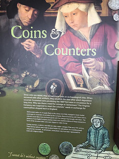 JAMESTOWN COINS AND COUNTERS EXHIBIT