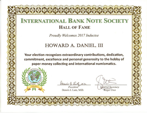 HOWARD DANIEL ENTERS IBNS HALL OF FAME